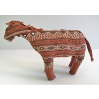 Embroidered Donkey Hand embroidered donkey from the Great Rann of Kutch using traditional embroidery on cotton fabric Please Click the image for more information.