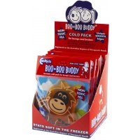 Boo Boo Buddy -  Display Box 12 Units Boo Boo Buddy Display Box 12 UnitsEvery freezer needs a Boo Boo Buddy for lifes little accidents  Boo Boo Buddy is the most innovative and effective child friendly cold pack on the market developed by doctors to  assist natural healing and sooth pain caused by minor bumps bruises scrapes insect bites stings headaches fever and vaccinations Boo Boo Buddys a. Please Click the image for more information.