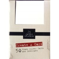 Grant Studios Boxed Cards Plain White 50 Cards Overall  Dimensions16cm X 115 cm X 10cm50 Blank cards and Matching Envelopes Please Click the image for more information.