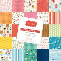 Grace Taylor 100 Sheet Paper Pad -  Playtime Collection Overall Dimensions 305 cm X 305 cm 12 X 12100 Sheet paper pads from Grace Taylor Designs Each pack contains 22 patterns and 3 solid coloured papers Four sheets of each design are contained in each pack Acid and lig. Please Click the image for more information.