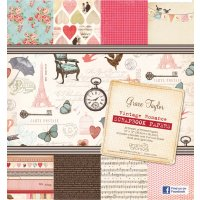Grace Taylor 30 Sheet Paper Pad - Vintage Romance  Please Click the image for more information.