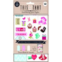 This & That - Chevron assorted tags The This and That Chevron gift tags pack by Grace Taylor provides you with all the bits and pieces to create persoanlised gift tags and notes in a way thats simple . Please Click the image for more information.