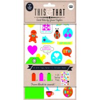 This & That - Neon assorted tags The This and That Neon gift tags pack by Grace Taylor provides you with all the bits and pieces to create persoanlised gift tags and notes in a way thats simple  . Please Click the image for more information.