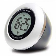 Sam Desk/Table Alarm Clock Large LCD display clock with back light activated by a vibrationtouch sensor Light onoff by touch sensor Al. Please Click the image for more information.