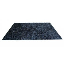 Thatch Calf Hide Rug Black