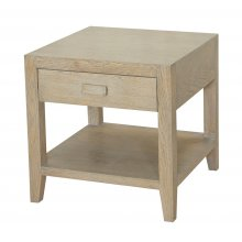 Klein Bedside Table Grey Oak  Please Click the image for more information.