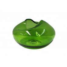 Calyx Leaf Green Vase Short  Please Click the image for more information.