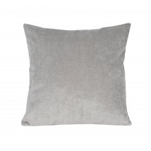 Valletta Velvet Cushion Silver  Please Click the image for more information.