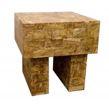 Brazil Sidetable Limewash Teak wood panelled tableNEARLY 50 OFF NORMAL WHOLESALE Please Click the image for more information.