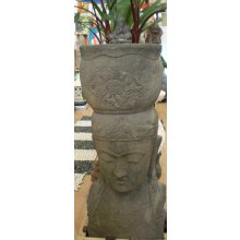 Balinese Greenstone Dewi Head Pot Water Feature OK 2426 Balinese Greenstone Dewi Head Pot Water Feature Please Click the image for more information.