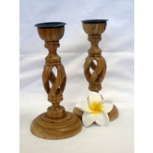 MM 2918 Twisted Wooden Candle Holders Small MM 2918 Twisted Wooden Candle Holders Please Click the image for more information.