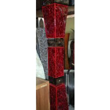 Balinese Glass and Iron Floor Lamp IK 3965 Balinese Glass and Iron Floor Lamp Please Click the image for more information.