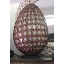 Balinese Egg Wicker Lamp DU 3904 Balinese Egg Wicker Lamp Please Click the image for more information.