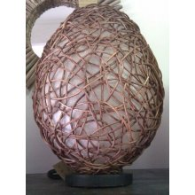 Balinese Egg Wicker Lamp DU 3902 Balinese Egg Wicker Lamp Please Click the image for more information.