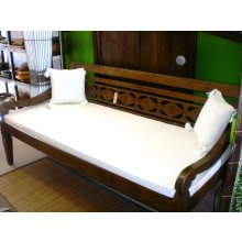 BA 5741 Antique Javanese Daybed Antique Javanese Daybed includes mattress Please Click the image for more information.
