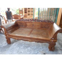 PE 4691 Antique Boat Teak Javanese Daybed  PE 4691 Antique Boat Teak Javanese Daybed  Please Click the image for more information.