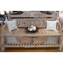 AJ 0275 Antique Boat Teak Day Bed with 2 drawers and foot stool AJ 0275 Antique Boat Teak Day Bed with 2 drawers and foot stool Please Click the image for more information.