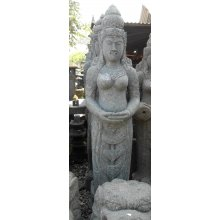 AU 1058 2mtr Balinese Greenstone Meditating Dewi Goddess AU 1058 2mtr Balinese Greenstone Meditating Dewi Goddess Please Click the image for more information.