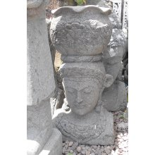 AU 1064 Balinese Greenstone Dewi Head Pot AU 1064 Balinese Greenstone Dewi Head Pot Please Click the image for more information.
