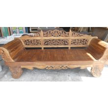PE 1234 Antique Boat Teak Javanese Daybed  PE 1234 Antique Boat Teak Javanese Daybed Please Click the image for more information.