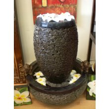 TM 1561 Lava Stone Bowl and Base Water Feature TM 1561 Lava Stone Bowl and Base Water Feature Please Click the image for more information.