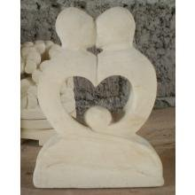 AN 3266 Limestone Kissing Heart couple AN 3266 Limestone Kissing Heart couple Please Click the image for more information.
