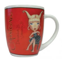 MUG - CAPRICORN These colourful mugs feature a funky character that cleverly represents each of the astrological signs. Please Click the image for more information.