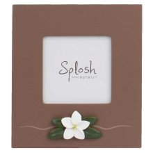 Lush 3x3 Photo Frame The Lush collection is a bold simplistic chocolate range featuring natural frangipanisPhoto Size 75 cms . Please Click the image for more information.
