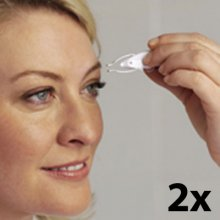 2 x Tweezers with Magnifier and Light Professional Tweezers with LED Light and Magnifier  Set of 2  Ideal for Eyebrows Splinters and Ingrown Hairs Tired of picking your eyebrows think its boring These tweezers will make the whole procedure much easier With its built in LED light and magnifier youre sure to achieve perfectly shaped eyebrows every time It is also a great he. Please Click the image for more information.