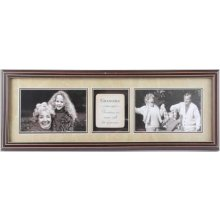 GRANDMA Hallway Photo Frame This frame is brown and the matting is late and the plaque is cream stone look with brown writingThe photo frame has glass on the front This i. Please Click the image for more information.