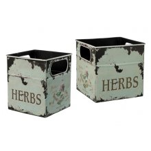 French provincial country or shabby SET OF 2 HERB BOXES French provincial SET OF 2 HERB BOXESThese stunning vintage shabby country antique herb boxes are made of Iron and have cut outs for handlesThey a. Please Click the image for more information.