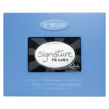 SPLOSH Signature Frame 18th BLUE Frame your special occasion with the signatures of those who shared it with you Signature Frames are a hit at parties and celebrations . Please Click the image for more information.