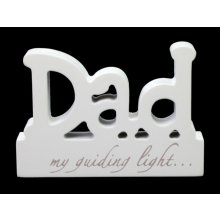 BLOCK WORD - Dad Block WordsFrom SploshDADDad  my guiding lightHeight 85cmWidth 12cmDepth 2cmapproxMaterial MDF Please Click the image for more information.
