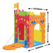 Kids Cubby house - Giant Castle Kids Cubby house  Giant Foam CastleThis cubby house is made from kidsafe nontoxic EVA foamThe foam measures 2cm thick and the pieces easily join together for quick and simple constructioncomes in a b. Please Click the image for more information.