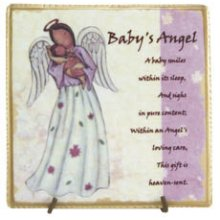 BABY'S Angel Message Tile