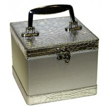 Square Jewellery Box SILVER LOVELY Square Jewellery Case SILVERPerfect to store all your treasuresA beautiful addition to any dressing tablemeasurem. Please Click the image for more information.