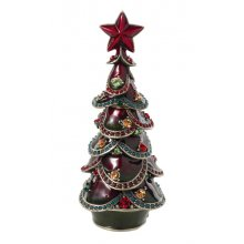 Vintage Style CHRISTMAS Perfume Bottle Vintage style CHRISTMAS metal jewelled perfume bottle This perfume bottle is in the shape of a christmas tree and it is just delightful  It . Please Click the image for more information.
