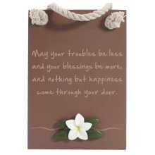 BLESS-HAPPINESS Plaque Splosh LUSH House BlessHappiness PlaqueThe Lush collection is a bold simplistic chocolate range featuring natural frangipanisMeasu. Please Click the image for more information.