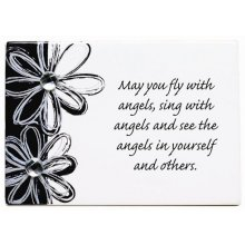 SPLOSH Inspirational Poem - ANGELS Splosh OPULENCE Inspiration Poem  Wording ReadsMay you fly with angelssing with angels and seethe angels in yourself and othersIt is made of . Please Click the image for more information.
