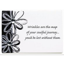 Inspirational Poem - WRINKLES Splosh OPULENCE Inspiration Poem  Wording ReadsWrinkles are the map of your soulful journeyyoud be l. Please Click the image for more information.