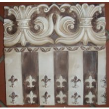 Fleur Stripe WALL PLAQUE A stunning wall plaque which would add character to any home This plaque comes with a hook on the back for easy hangingMeasurements 20cm x 24cm x 3cm Please Click the image for more information.