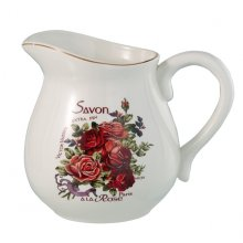 Savon - STUNNING Large Jug Savon  Stunning Larg JugThis jug is from from the Savon range and is lovely it features pink and red rosesLovel. Please Click the image for more information.
