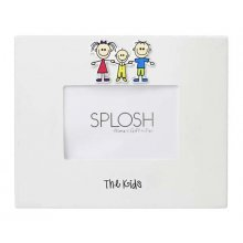 THE KIDS - WHITE 4x6 Photo Frame 4x6 Splosh Photo Frame from the Family Tree RangeDecorated with 3 children and the wording The Kids on the bottom of the frameThe q. Please Click the image for more information.