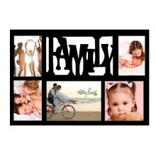 5 HOLE photo Frame FAMILY - Black Kelly Lane FAMILY 5 HOLE Photo frame Photo Sizes9cm x 14cm x 319cm x 14cm x 114cm x 14cm x 1Frame Size 505 cms x 345 cmsCol. Please Click the image for more information.
