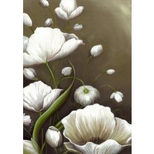 LILIES - POPPY FLOWER - 49cm x 70cm 49cm x 70cm canvas Please Click the image for more information.