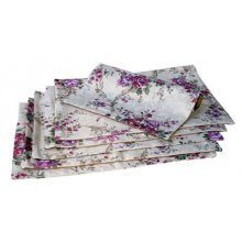 Set of 6 Pretty Floral Rose Placemats Set of 4 lovely Floral Rose Placemats I have Table Runners which match this range they are listed in my storeMe. Please Click the image for more information.