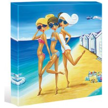 SHORE THING Girls Beach Kelly Lane SHORE THING Girls Beach 40cm x 40cm CanvasGet into the beach feeling with the latest Kelly Lane Canvas range Shore ThingThis. Please Click the image for more information.