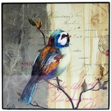 "WALL ART - ""BIRD - WREN"" WALL ART  BIRD  WREN Enjoy the beauty of nature right at the comforts of your very own home with Lacquer PrintAdd a splash of warm colors into your walls with this dcor that will never fail to draw the eyes and elicit some appreciationNature lover. Please Click the image for more information."