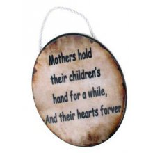 STYLISH Ceramic Plaque - MOTHERS HOLD THEIR STYLISH Ceramic Plaque  MOTHERS HOLD THEIRTheres nothing like a mothers love but its difficult to find items that fully express just how wonderful and important it isThis motherth. Please Click the image for more information.