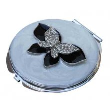 GORGEOUS Bling White Butterfly Compact Mirror GORGEOUS Mirror Compact Green BeeMirror Compact Green Bee is truly one unique and stylish compact that all women should have inside their purses and bagsMeas. Please Click the image for more information.